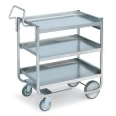 Vollrath® 97211 3-Shelf Knockdown Heavy Duty S/S Cart