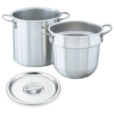 Vollrath® 77110 S/S 11.5 Qt Double Boiler Set With 11 Qt Inset