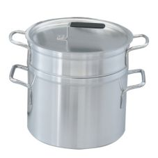 Vollrath 67708 Wear-Ever Aluminum 10 Qt. Double Boiler w/ 8.5 Qt Inset