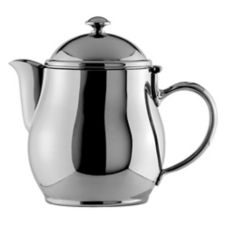 Oneida® 87504801A Jazz S/S 10 oz Short Spout Teapot