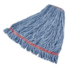 Rubbermaid Swinger Loop® Large Blue Shrinkless Wet Mop Head