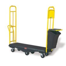 Rubbermaid® FG9T5200BLA StockMate® Black Deck Restocking Truck