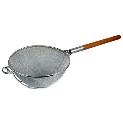 Browne Foodservice 9250 Double Mesh Strainer with 14 Bowl