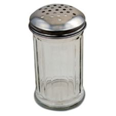 Browne Foodservice 12 Oz Plastic Cheese Shaker w/ S/S Perforated Top