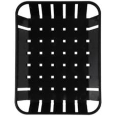 Carlisle® 4403103 Black Munchie Baskets™