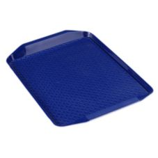 Carlisle® Cafe Handled Tray, Blue