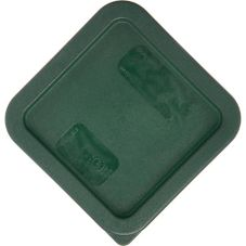 Carlisle Green Lid For 2 - 4 Qt StorPlus™ Square Storage Container