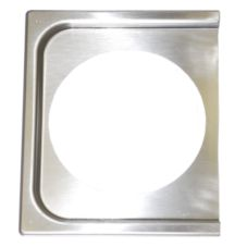 Quadra-Tech L-APLT1H 1 Hole Half Size Adapter Plate