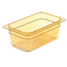 Carlisle® 3088113 StorPlus™ 2.8 Qt. Amber 1/4-Size Food Pan