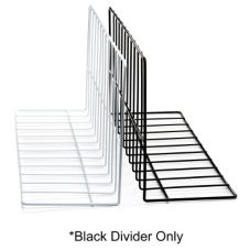 "Elite Global Solutions W4630-B Black 4 x 6 x 30"" Wire Divider"