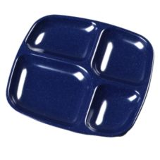 Carlisle® Cafe Blue 4-Compartment Server Tray