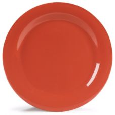 "Carlisle® 4300252 Durus® 10.5"" Sunset Orange Dinner Plate"
