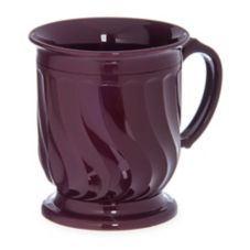 Dinex® Turnbury® Cranberry Pedestal Base 8 Oz Insulated Mug