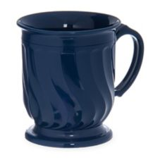 Dinex® DX300050 Turnbury® Blue 8 Oz. Insulated Mug - 48 / CS