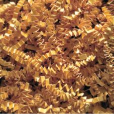 Willow Specialties 1CC10.GR 10 Lb Goldenrod Crinkle-Cut Shred - 1 / BX