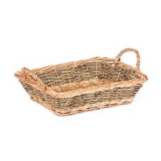 "Willow Specialties 12-1/2"" x 9-1/2"" Willow Basket"