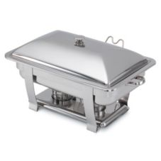 Orion® Oblong Mirror Finish S/S Complete Lift-Off Chafer, 9 Qt