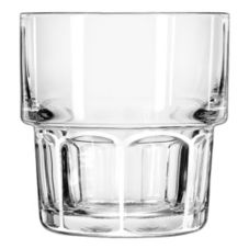 Libbey 15659 Gibraltar DuraTuff Stackable 9 oz Rocks Glass - 36 / CS