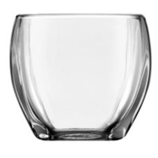 "Libbey® 5557/UPC00 Tapered 3"" Square Glass Votive - 12 / CS"