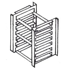 S/S Biscuit Pan Rack