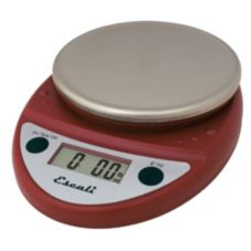 Escali® P115-WR-NSF Warm Red 11 lb Portable Digital Scale