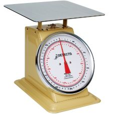 Detecto® T-50-KP Mechanical Top Loading 50 kg. Dial Scale