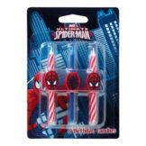 DecoPac 11745 Spider-Man Candles - 6 / BX