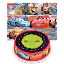 DecoPac 44514 Cars Lightning McQueen Designer Prints™ - 6 / BX