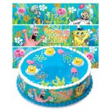 DecoPac 44484 Spongebob Sealife Designer Prints™ - 6 / BX