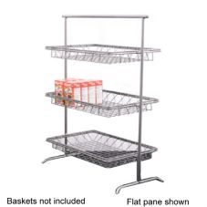 Dover Metals D-810BNT Chrome Plated Nickel Tilted 3-Tier Stand