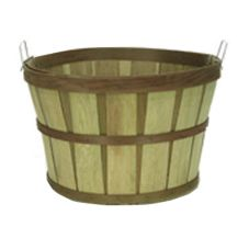 "Texas Basket 314 18"" x 12"" Treated Plant Bushel Basket"