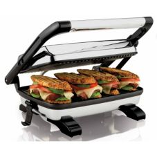 Hamilton Beach 25450 Grooved Panini Press