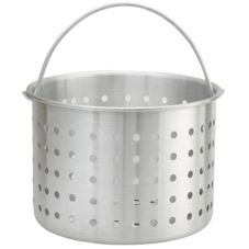 Winco® ALSB-40 Aluminum 40 Qt. Steamer Basket