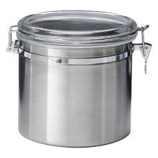 OGGI™ 5304 Stainless 52 Oz. Airtight Canister with Clamp Lid