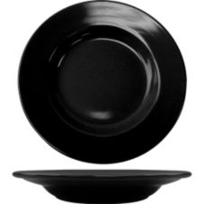 International Tableware CA-120-B Black 20 Oz Pasta Bowl - 12 / CS