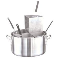 Adcraft® PASTA-4 20 Qt. Aluminum Pastabilities Pasta Cooker