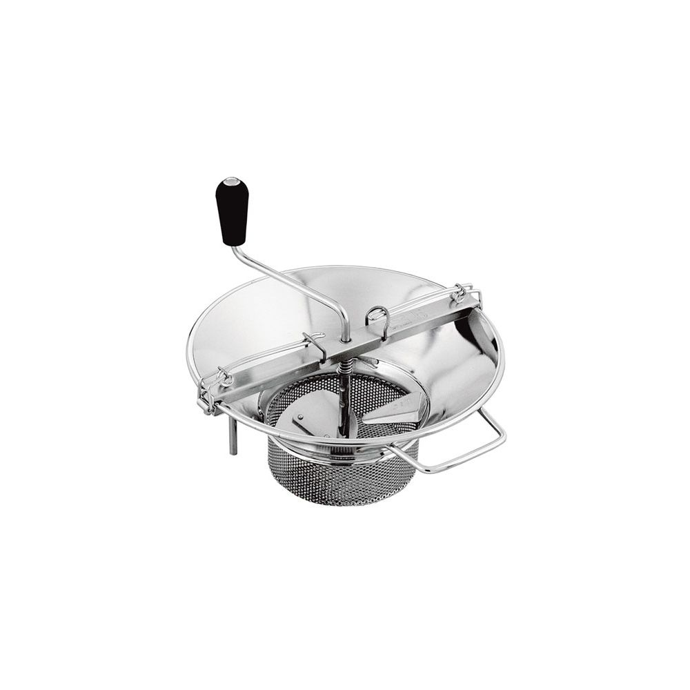Matfer Bourgeat X530 S/S Food Mill With Basket Shaped Grid