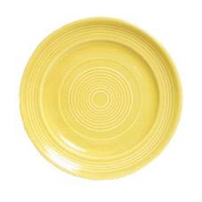 """Tuxton® CSA-062 6-1/4"""" Saffron Round Plate - 24 / CS"""