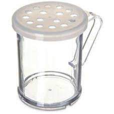 Carlisle® 423030 Translucent Shaker / Dredge With Parsley Lid
