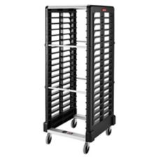 Rubbermaid FG332400BLA Max System 18-Slot Dual Loading Insert Pan Rack