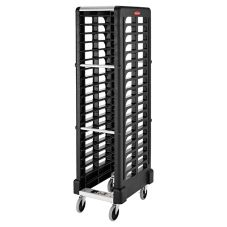 Rubbermaid FG331700BLA Max System 18-Slot End Loading Insert Pan Rack