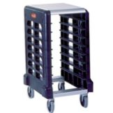 Rubbermaid® FG331500BLA Max System 8-Slot End Load Prep Cart
