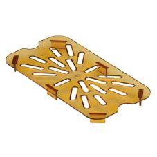 Cambro® 40HPD772 Sandstone Drain Shelf for 1/4 Size Food Pan
