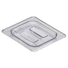 Cambro Clear Camwear® 1/6 Size Food Pan Cover w/ Handle