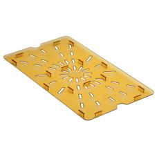 Cambro® 10HPD150 Amber Drain Shelf for Full Size H-Pans™