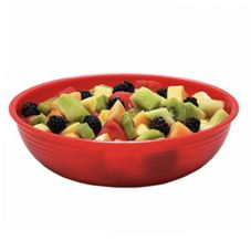 Cambro® Camwear® Red 5.8 Qt. Round Ribbed Bowl
