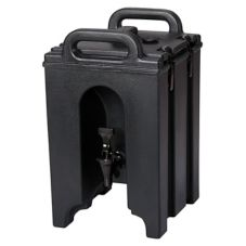 Cambro® 100LCD110 Black 1.5 Gallon Camtainer® Beverage Server