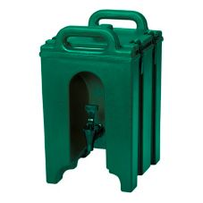 Cambro 100LCD519GRN KY Green 1.5 Gallon Camtainer® Beverage Server