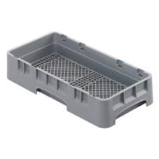 Cambro® HFR258151 Camrack® Soft Gray Half Size Flatware Rack