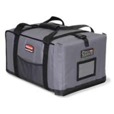 Rubbermaid PROSERVE Small Gray Insulated End-Loading Full Pan Carrier